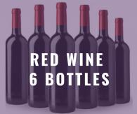Red Wine 6 Bottle