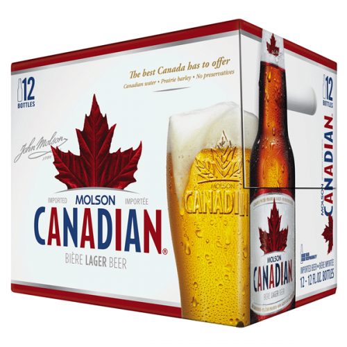 Molson Canadian  12PACK