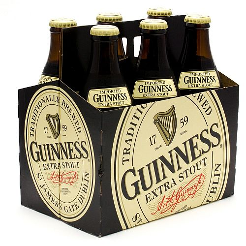 Guinness Extra Stout 12oz 6PACK