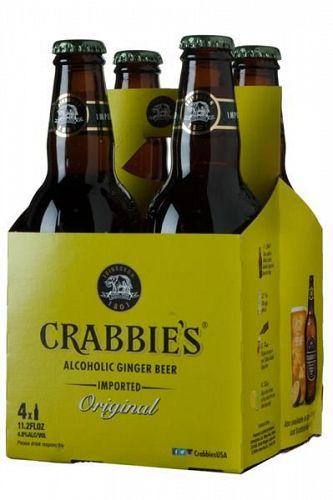 Crabbies Alc. Ginger Beer 11.2oz 4PACK