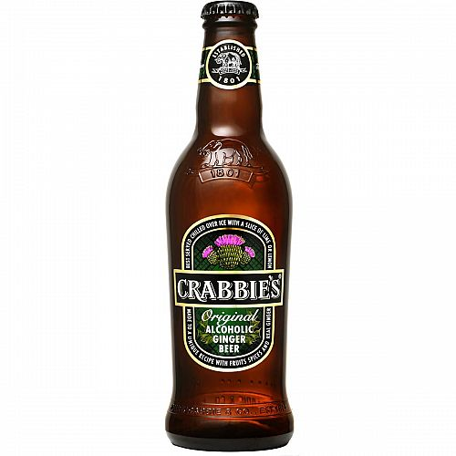 Crabbies Alc. Ginger Beer 11.2oz SINGLE