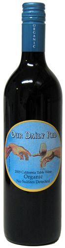 Our Daily Red 2019 Organic Vegan 750ml