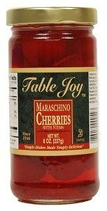 Table Joy Maraschino Cherries 10oz