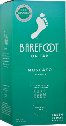 Barefoot Moscato 3L