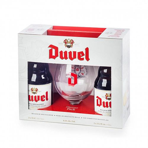 Duvel Gift Set w/glass