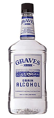 Graves Grain Alcohol 1.75l