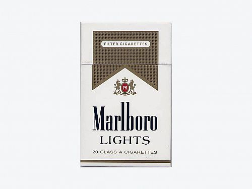 Marlboro Lights Gold Box