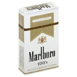 Marlboro Lights 100's Gold Box