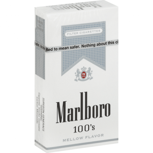 Marlboro Ultra Lights 100's Silver Box