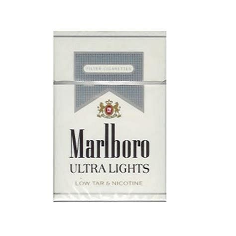 Marlboro Ultra Lights Silver Box