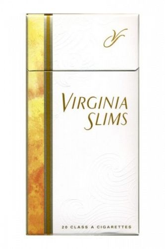 Virginia Slim Lights 100's Gold Box