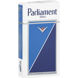 Parliament Lights 100's White Box