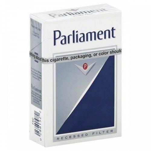 Parliament Ultra Lights Silver Box