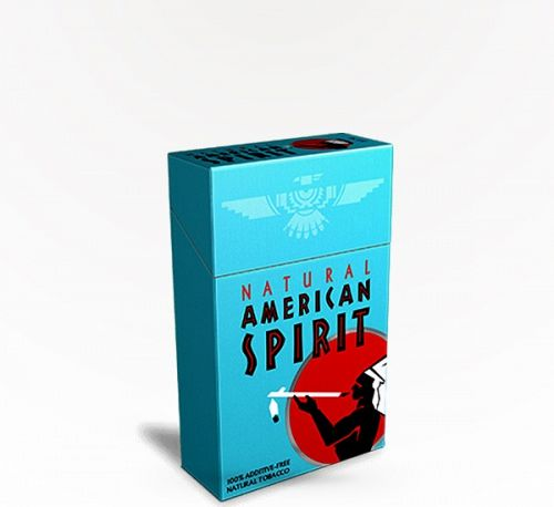 American Spirit Regular Blue Box Full Bo