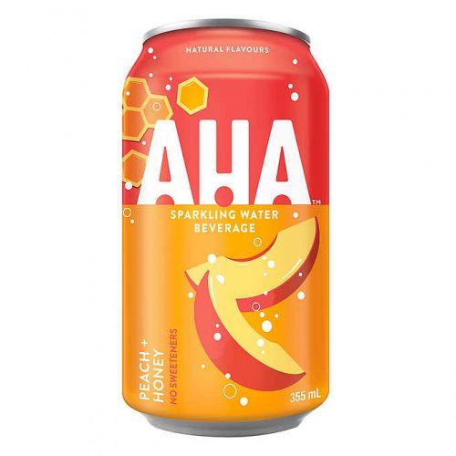 AHA Peach + Honey 12oz