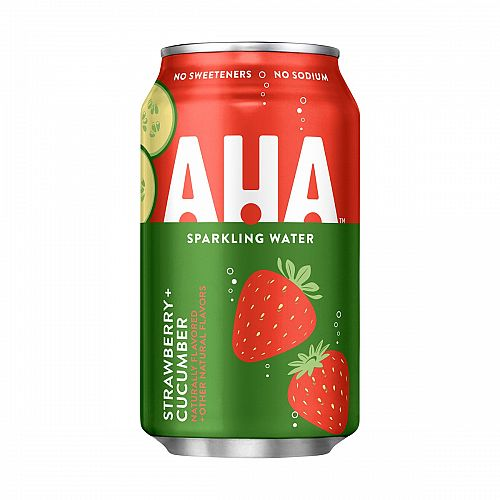 AHA Strawberry + Cucumber 12oz