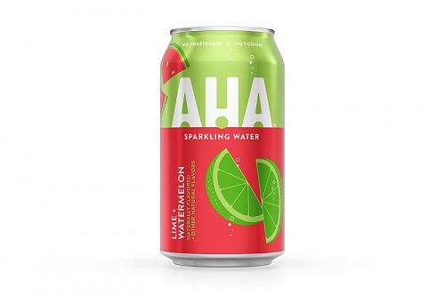 AHA Lime + Watermelon 12oz