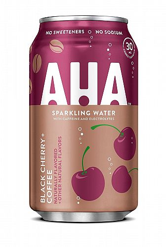 AHA Black Cherry + Coffee 12oz