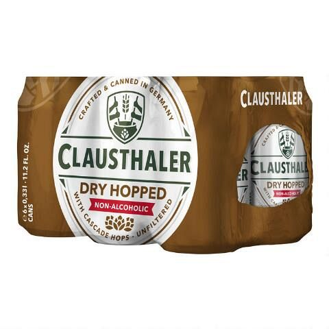 Clausthaler Amber Non Alcoholic Can