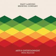 Mast Landing Arts and Entertainment 16oz