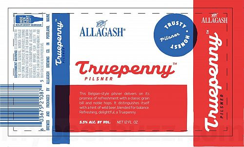 Allagash Truepenny Pilsner SINGLE
