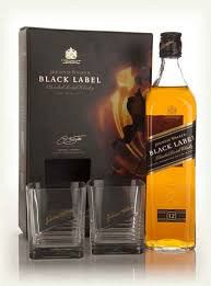 Johnnie Walker Black Gift 750ml