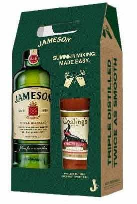 Jameson Ginger Beer Gift 750ml