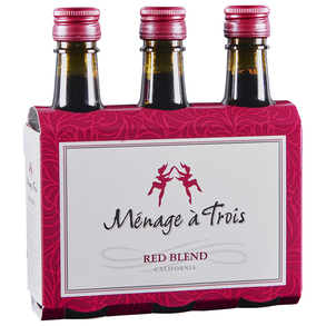 Menage a Trois Red 3PACK 187ml