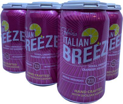 Fabrizia Italian Breeze 6pk 12oz