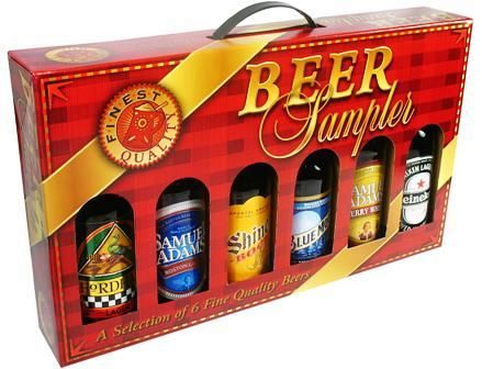 Beer Sampler Gift Box 6 Pk 12oz