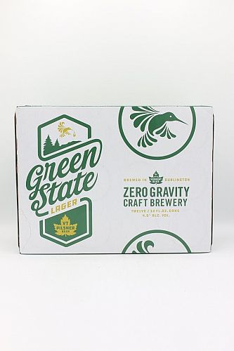 Zero Gravity Green State Lager 12PACK