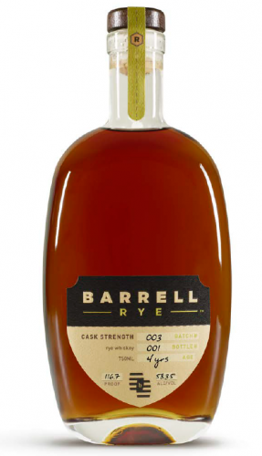 Barrell Rye Batch 3 750ml