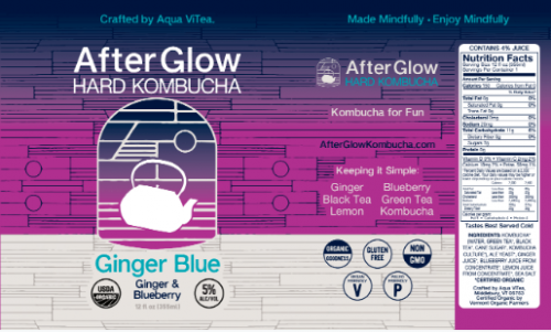 Afterglow Ginger Blue 12oz