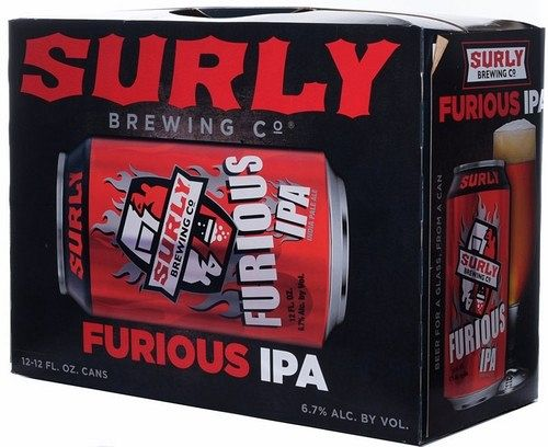 Surly Furious IPA 12PACK