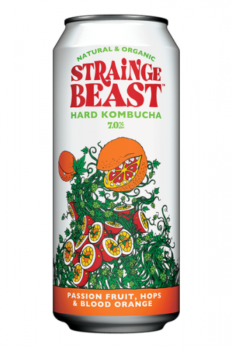Strainge Beast Passion Fruit Blood Orang