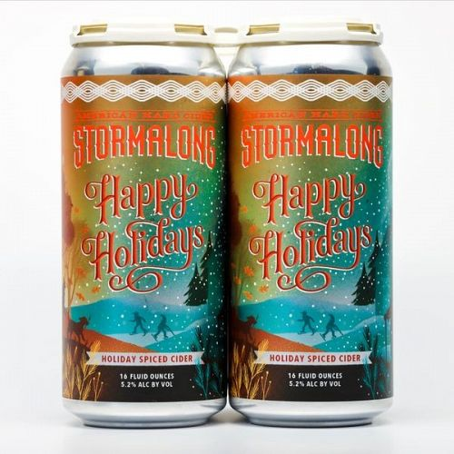 Stormalong Happy Holidays 16oz