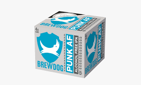 Brewdog Punk AF N/A Near Beer  4pk 12oz