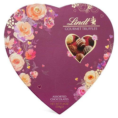 Lindt Assorted Truffles Heart 24pc