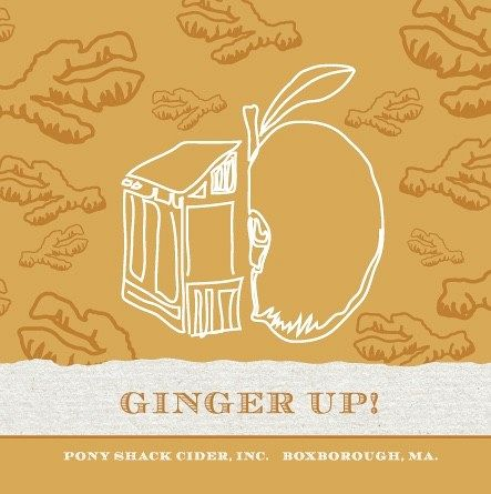 Pony Shack Ginger Up! 12oz