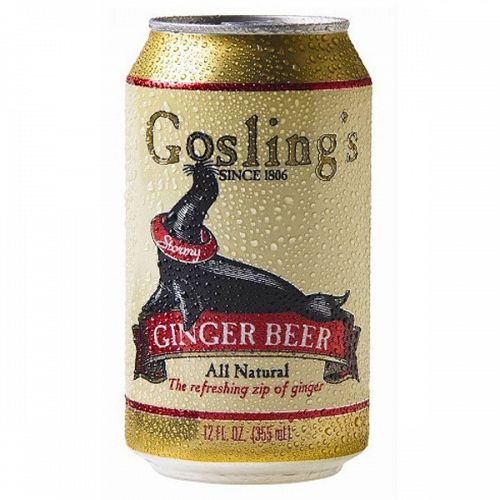 Goslings Ginger Beer 12oz can