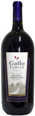 Gallo Twin Val. Hrty. Burgundy 1.5L