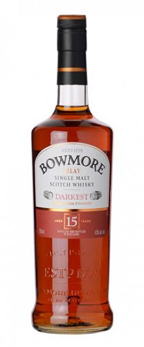 Bowmore Islay Darkest 15yo 750ml