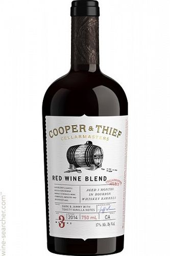 Cooper & Thief Red Blend 2016 750ml