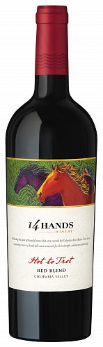 14 Hands Hot To Trot Red 2016 750ml