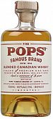Pops Canadian Whisky 750ml