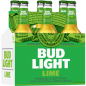 Bud Light Lime 12oz BOTTLES 6PACK