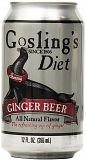 Goslings Diet Ginger Beer 12oz can