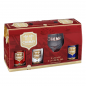 Chimay Gift Set with glass 11.2oz 3PACK
